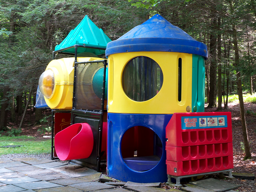 Lakeside Campground Play Structure